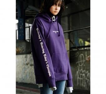 EVANLAFORET [Unisex] Rave New World Hoodie (purple)-0008