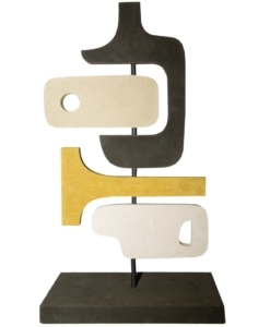 STEPHANE PARMENTIER Tabou Sculpture 4 Yellow