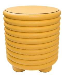 STEPHANE PARMENTIER Scala Stool, Yellow