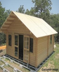 Lillevilla Allwood Cabin Kit Getaway – Free shipping