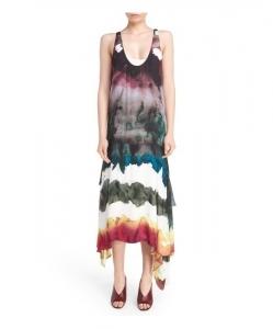 ACNE STUDIOS Saleh Georgette Maxi Dress