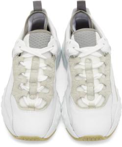 ACNE STUDIOS White Manhattan Sneakers