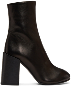 Acne Studios Back Saul Block Heel Boots