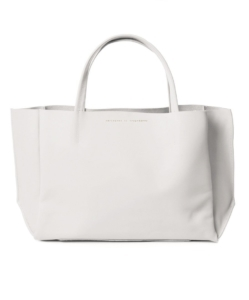 AMPERSAND AS APOSTROPHE White Sideways Tote
