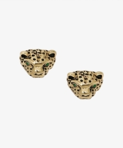 ANINE BING PANTHER STUD EARRINGS