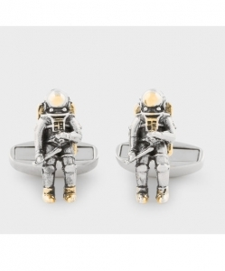 PAUL SMITH Men's Astronaut Cufflinks