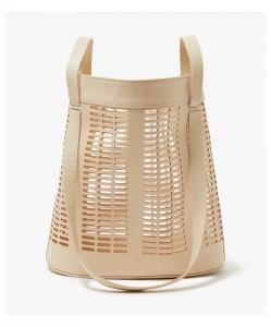 MODERN WEAVING Infinity Handle Basket Tote