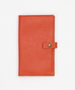 Leatherback Writer: 100% Real Italian Leather Notebook Cover – holds Smartphone, Wallet & Notebook (With Pen Holder) by This Is Ground