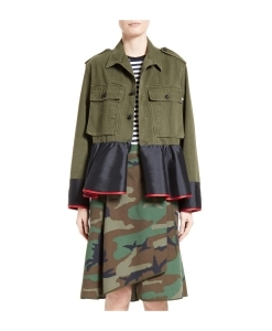HARVEY FAIRCLOTH Peplum Field Jacket