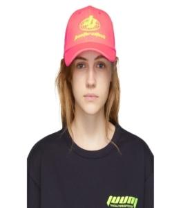 JUUN.J Pink 'Thealteredtech' Cap