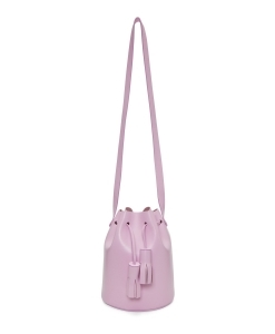 BUILDING BLOCK Pink Mini Bucket Bag