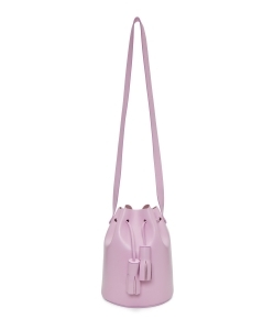 BUILDING BLOCK Pink Mini Bucket Bag