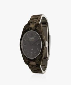 MAD PARIS Rolex Milgauss Camouflage Watch
