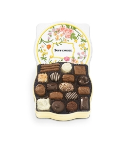 SEE'S CANDIES Wildflower Keepsake Tin