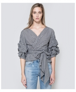 FARROW Jayne Wrap Top