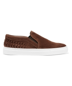 IRIS AND INK Suede slip-on sneakers