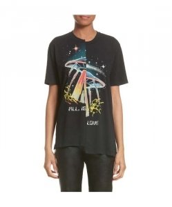 STELLA MCCARTNEY All Is Love UFO Asymmetrical Tee
