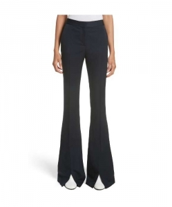 STELLA MCCARTNEY Split Hem Flare Trousers