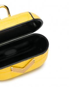 MANOKHI x VELANTE Embossed Earbud Case