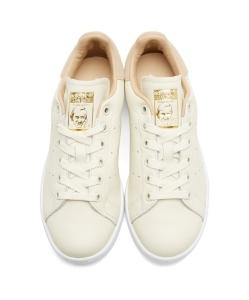 ADIDAS ORIGINALS Off-White Stan Smith Premium Sneakers