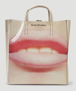 ACNE STUDIOS Baker Tote Bag in Pink