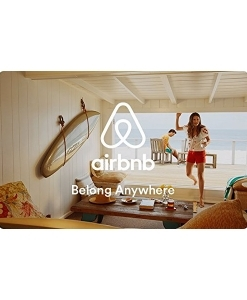 Airbnb Gift Cards – E-mail Delivery