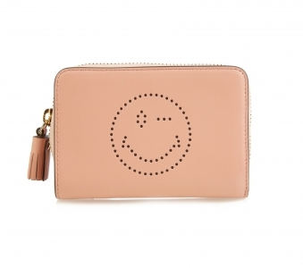 ANYA HINDMARCH Smiley leather wallet