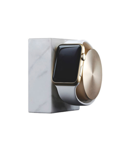Apple Watch Marble Charging Dock – White