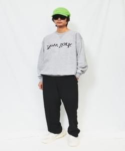 ASSEMBLY NEW YORK Grey New York Logo Sweatshirt