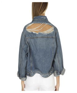 IRO Bill Distressed Denim Jacket
