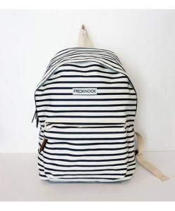 FREIKNOCK Stripe Backpack Navy [unisex]