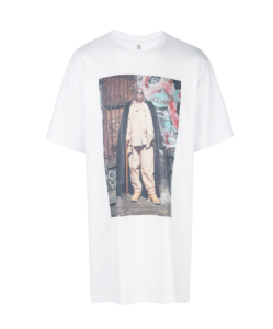 R13 Biggie Graffiti Curtis Tee