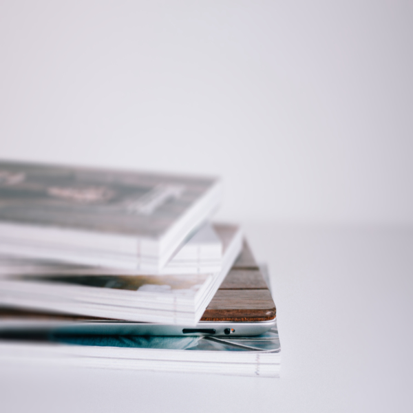 Books, Mags + Zines