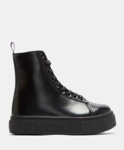 EYTYS Kibo Lace-Up Ankle Boots in Black