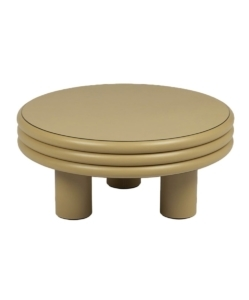 STEPHANE PARMENTIER Scala Low Coffee Table, Cappuccino