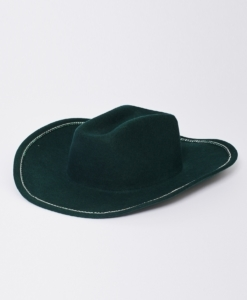 CLYDE Forest Rhinestone Cowboy Hat