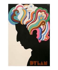 MILTON GLASER Bob Dylan Original Poster 1966