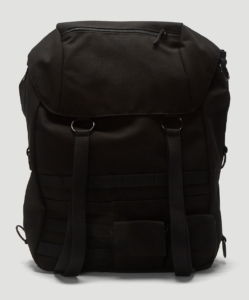 EASTPAK BY RAF SIMONS Topload Loop Backpack in Black