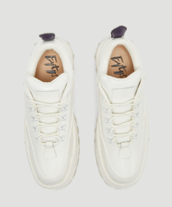 EYTYS Angel Patent Sneakers in White