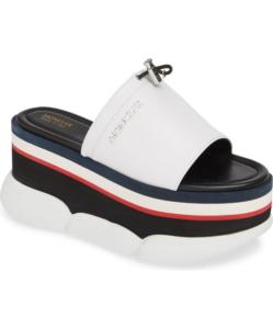 MONCLER Zaira Platform Slide Sandal