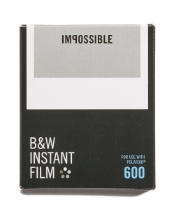 IMPOSSIBLE PROJECT Polaroid 600 Square Frame Instant Black & White Film