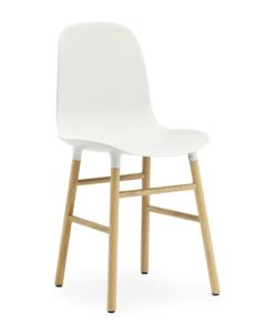 Normann Copenhagen Form Chair — Oak — White