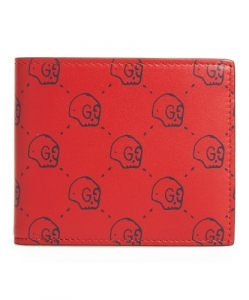 GUCCI GucciGhost Leather Wallet