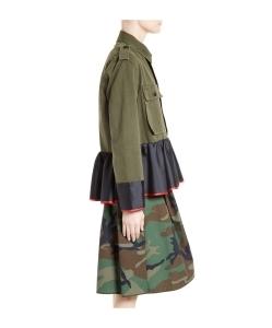 HARVEY FAIRCLOTH Peplum Field Jacket