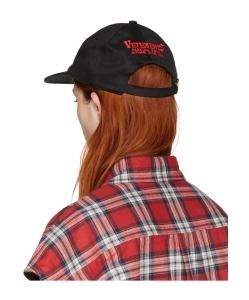 VETEMENTS Black Logo Tour Cap