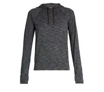 A.P.C. x OUTDOOR VOICES Hooded performance sweatshirt