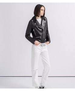THE ARRIVALS x MILK.XYZ HTML Moto Jacket