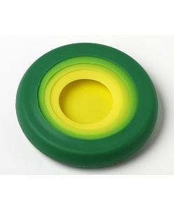 Food Huggers Reusable Silicone Food Savers, Assorted Color