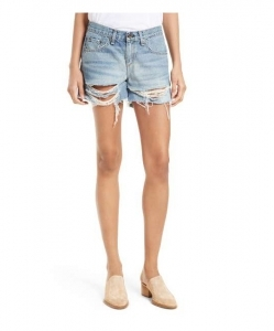 RAG & BONE/JEAN Ripped Boyfriend Shorts