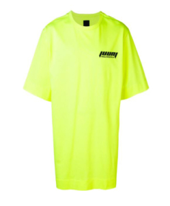 JUUN.J Yellow Logo T-Shirt